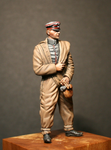 Dressing for Action German WW1 pilot figure