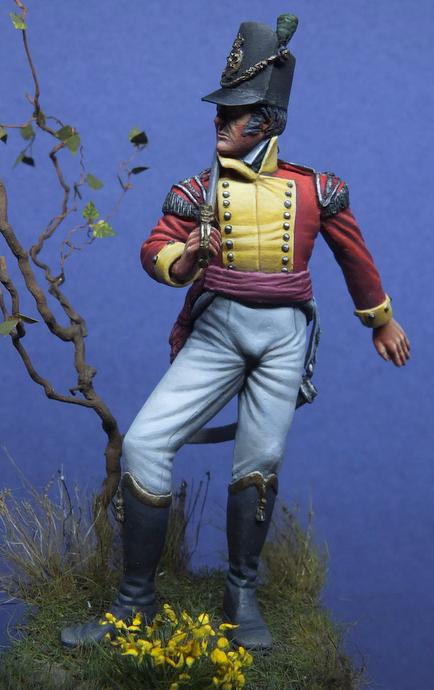 British Light Infantry Officer 1815 - Elan13