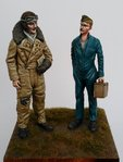 RFC/RAF Pilot & Mechanic WW1 1/32