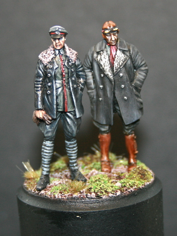 WW1 German Pilots 1/48 scale
