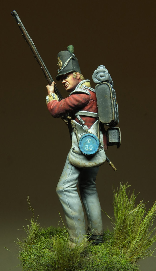 British Infantryman Light Company 1815