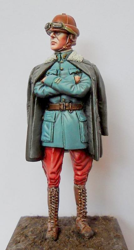 French Pilot WW1