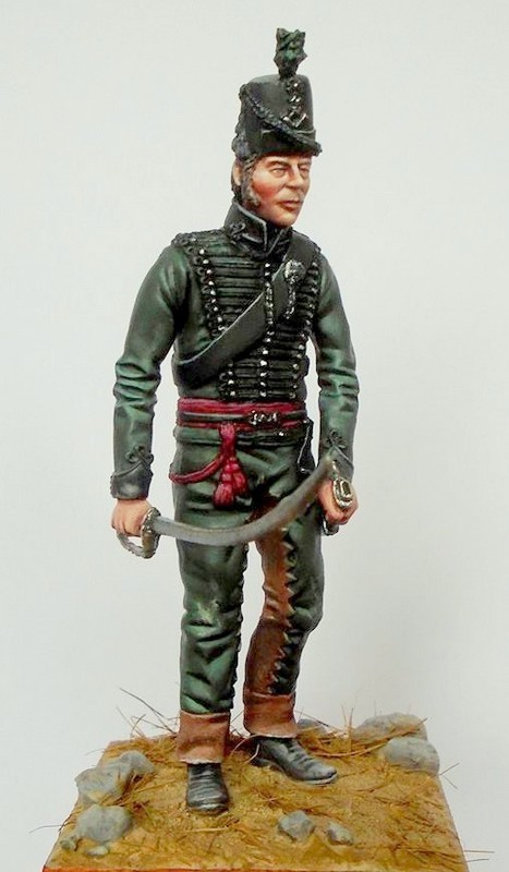 Officer British 95th Rifles Napoleonic period