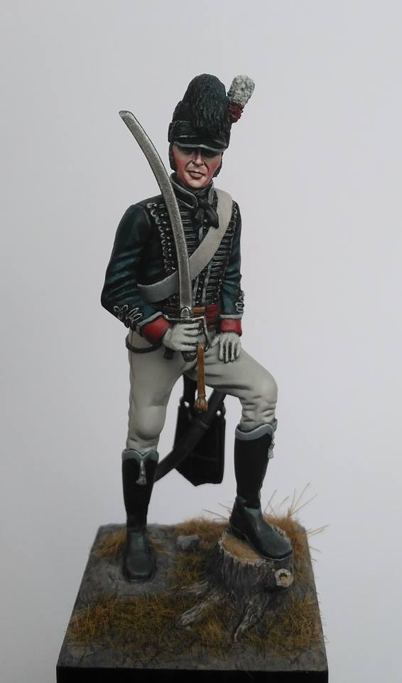 British Officer 16th Light Dragoons Peninsular War