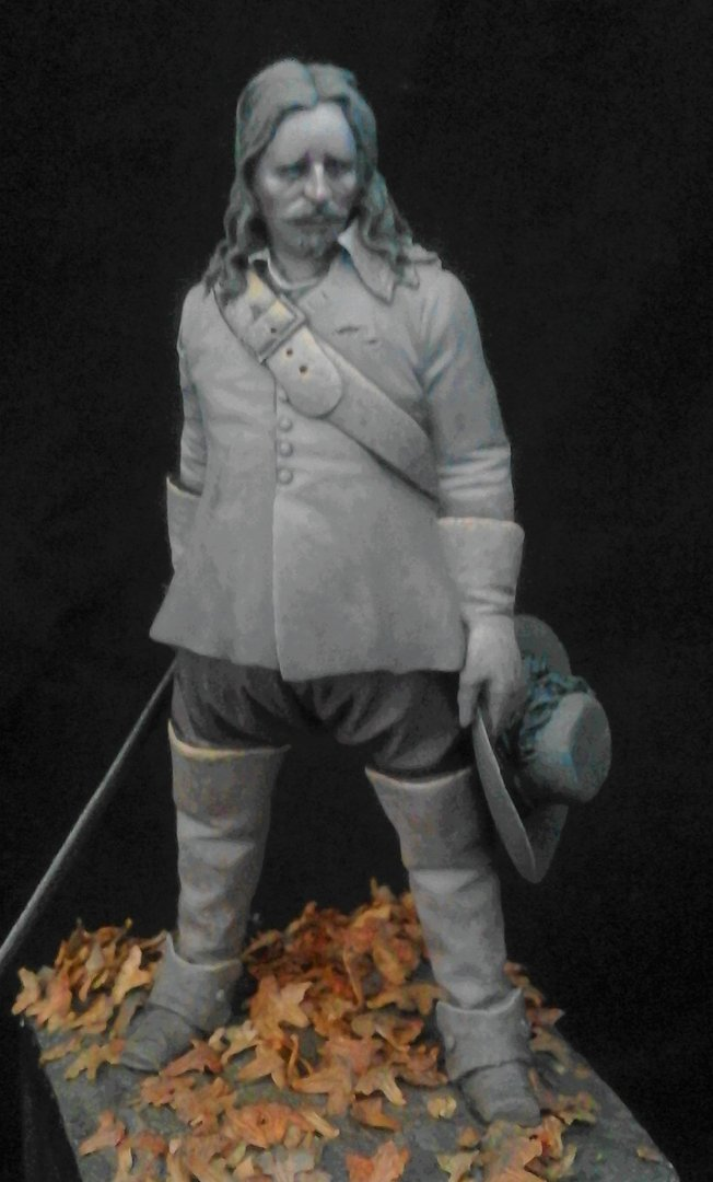 'The Defeated' ECW Officer  65mm Sculpted by Mike Blank