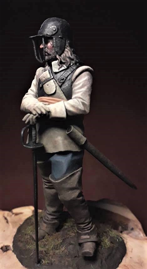 'Ironside' 65mm ECW Cavalry sculpted by Mike Blank