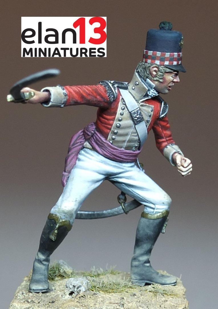 British Officer 71st Regiment 1810-15