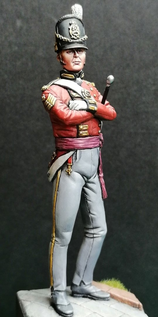 75mm Sergeant Major King's German Legion 1815